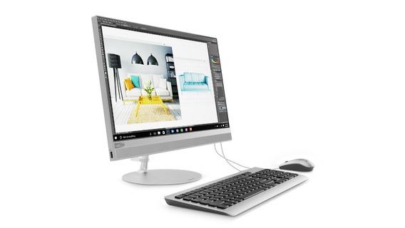 Desktop Lenovo Amd Ryzen 5 8gb 1tb Ideacentre Aio 23.8
