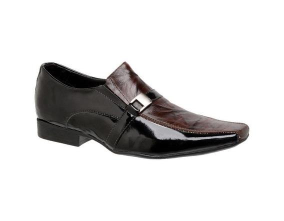 Sapato Masculino Couro Pinhão 760011 - Frete Grátis