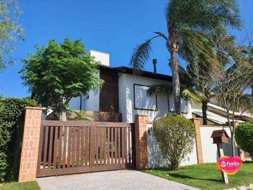 Imagem 1 de 22 de Casa Com 5 Dormitórios À Venda, 293 M² Por R$ 3.980.000,00 - Novo Campeche - Florianópolis/sc - Sc - Ca0156_feelin