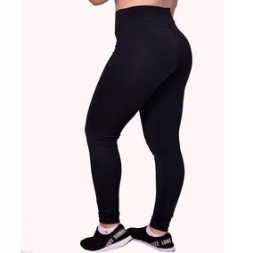 45e60e1aa Calça Legging Lisa Preta Fitness Ginastica Academia Caminhad