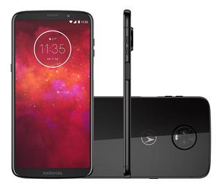 Smartphone Motorola Moto Z3 Play 128gb Índigo - Dual Chip