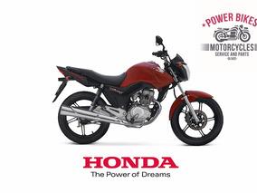 Honda Cg 150 0km Negra Azul Rojo, Nueva