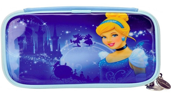 Porta 3ds Formato Bolsa Personagens Princesas Disney Cindere