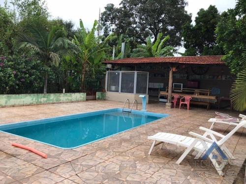 Chácara Com 3 Dormitórios À Venda, 5000 M² Por R$ 750.000,00 - Chácara Jabur - Sertaneja/pr - Ch0181
