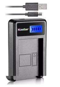 Carregador De Bateria Digital Para Canon Lpe10 Kastar Lc-e10