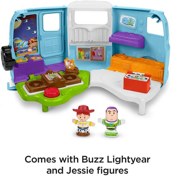 Toy Story 4 Camión Camper Little People Jesse Y Buz