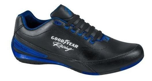 Tenis Goodyear Racing 3821 Id 168381 Negro Envio Gratis Msi
