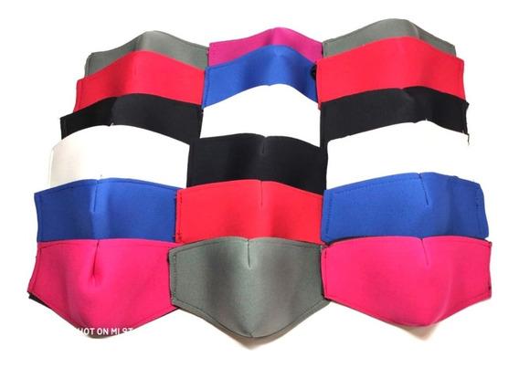 Cubrebocas Neopreno Mayoreo Lote 250 Pz Reutilizable Lavable