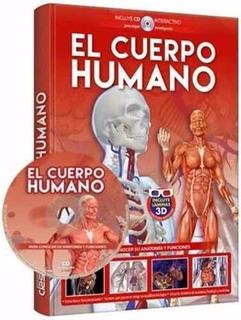 Libro: Guía Completa El Cuerpo Humano 3d + Cd Rom - Clasa