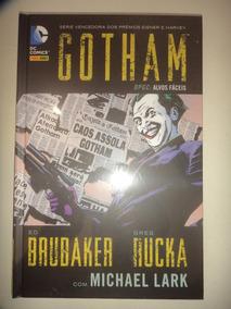 Batman Gotham Dpgc Alvos Faceis Capa Dura Panini Lacrado