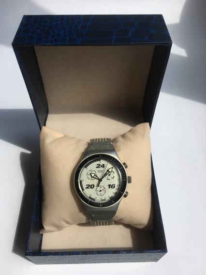 Relógio Swatch Irony Chrono Aluminio Ycs1006ag