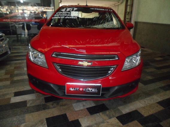 Chevrolet Prisma 1.0 Lt Vermelho