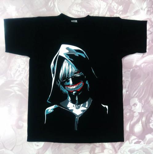 Camisetas Estampadas Niño Anime Tokyo Ghoul Kaneki