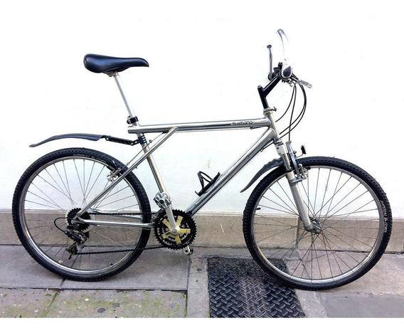 Bicicleta Rodado 26 Hombre / Cromada Impecable Oferta