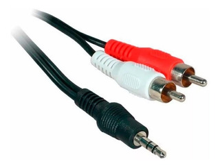 Cable Audio Atv Stereo 3.5mm A 2 Rca 1,5 Metros