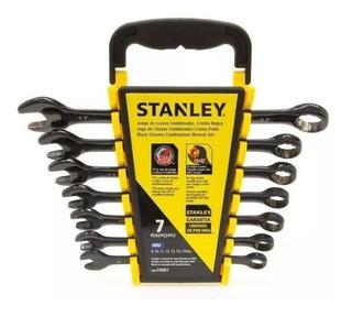 Juego Llaves Combinadas Stanley Metricas 7 Piezas Cuotas