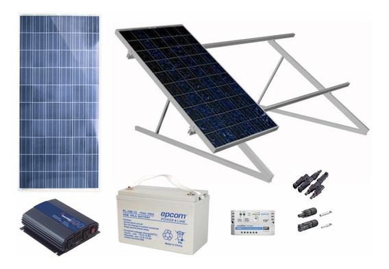 Planta Solar Semi Profesional De 300w 1500w Diarios