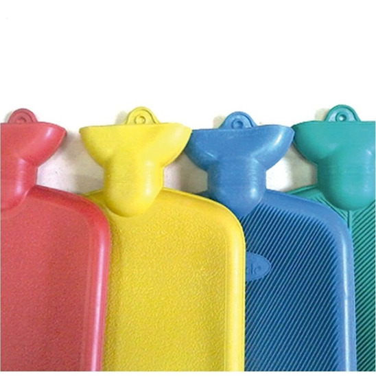 Compresa Bolsa Agua Caliente 1.5 Litros Colores 32x20cm