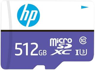 Hp Memoria Micro Sd 512 Gb Clase 10 Uhs 3 Mx330 4k Ultra Hd