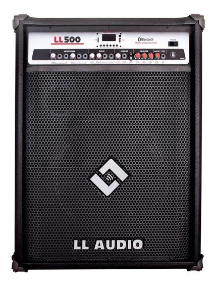Caixa Amplificada Multiuso Ll 500 Bt Usb Bluetooth 150 Watts