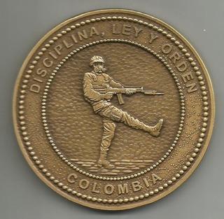 Medalla Batallón De Policía Militar No 15 Bacata