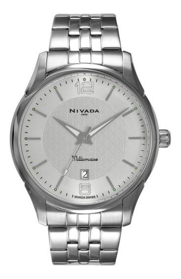 Reloj Para Caballero Nautico Nivada Millionare Original