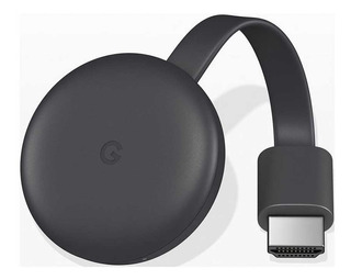 Google Chromecast 3 Original 100% Smart Tv Hdmi Garantia 1 Año Y Factura