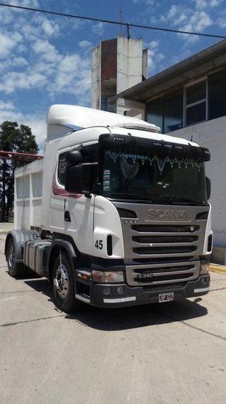 Scania G340 Blanco 4x2