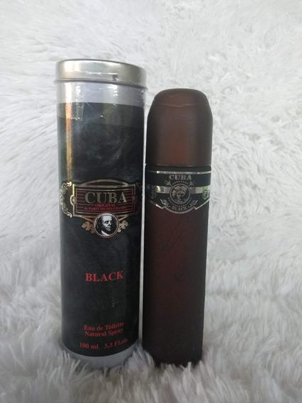 Perfume Cuba Black Masculino 100ml