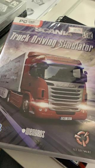 Scania Truck Driving Simulator Original Lacrado Física Pc