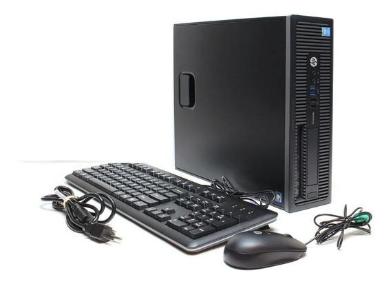 Cpu Computador Hp Elitedesk Core I5 6500 8gb 500gb - Novo