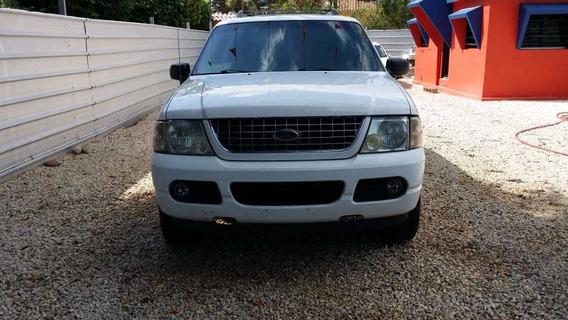 Ford Explorer Xlt 05 Blanco