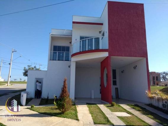 Sobrado Em Condomínio 3 Dormitórios Sendo 1 Suíte, 4 Vagas De Garagem, Cajuru Do Sul, Sorocaba. - So0192