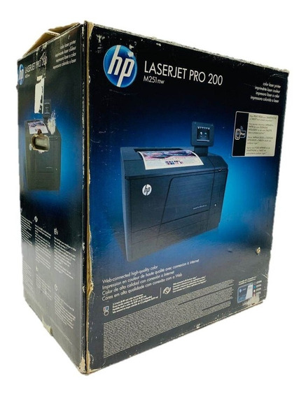 Impresora Hp Laserjet Pro 200 Color M251nw 280 Usd.