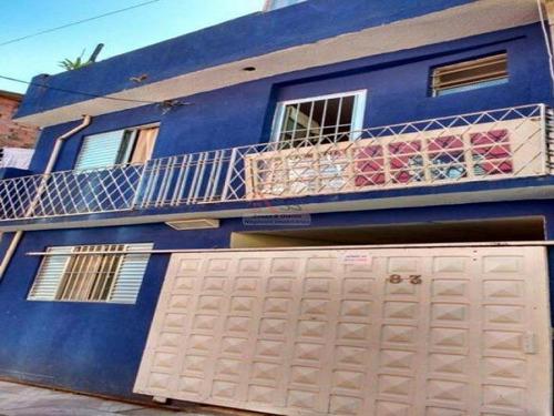 Imagem 1 de 30 de Sobrado Para Venda - Jardim São Saverio (próximo Ao Simba Safári) - Id 878 - 878