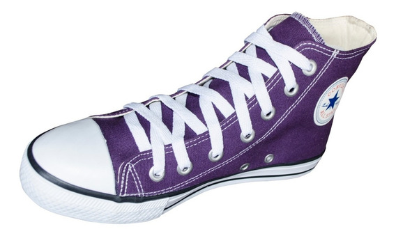 Tênis Converse All Star Chuck Taylor Cano Alto Violeta Roxo