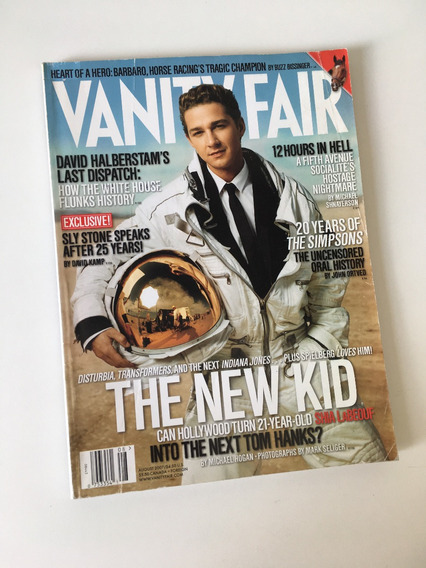 Revista Vanity Fair - Agosto 2007 Shia Labeouf