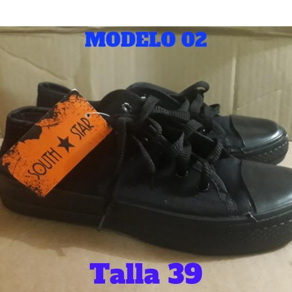 Zapatos Tipo Converse/ South Star