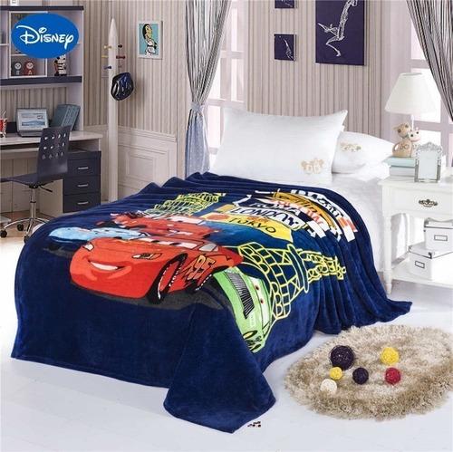 Imagen 1 de 10 de Frazada 1 Plaza Disney