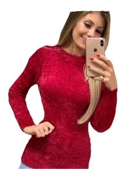 Blusa Pelinho Feminina Inverno Promoção
