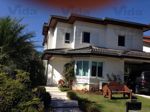 Casa Condomínio Sobrado À Venda Alphaville Santana  Parnaíba - 33449