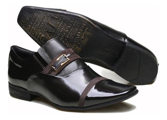 Sapato Calvest Masculino Verniz - 1100c659