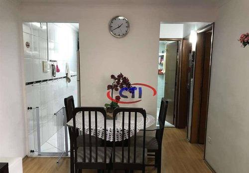 Apartamento Com 2 Dormitórios À Venda, 54 M² Por R$ 233.000 - Alves Dias - São Bernardo Do Campo/sp - Ap2939