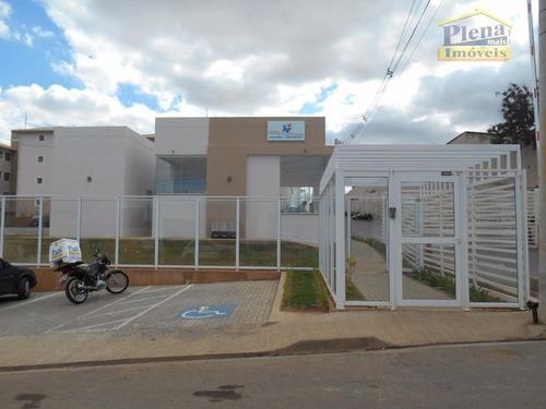 Imagem 1 de 16 de Apartamento Com 2 Dormitórios À Venda, 45 M² Por R$ 180.000,00 - Residencial Guairá - Sumaré/sp - Ap0837