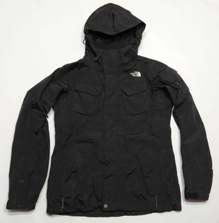 Campera The North Face Negra Hyvent Talle M