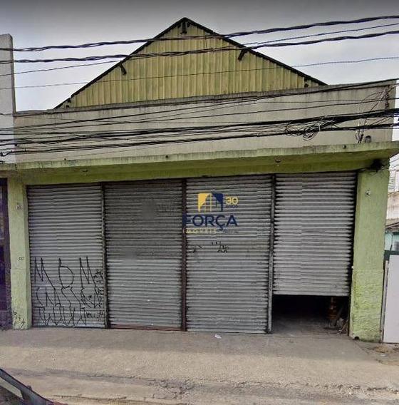 Galpão Para Alugar, 500 M² - Vila Maria - São Paulo/sp - Ga0859