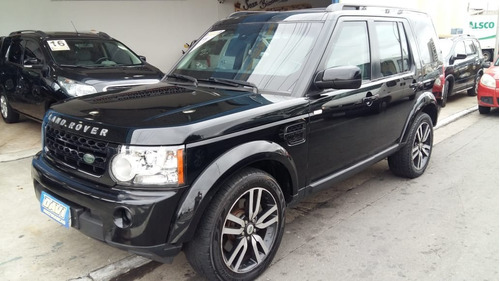 Land Rover Discovery 4 Black White  Blindado