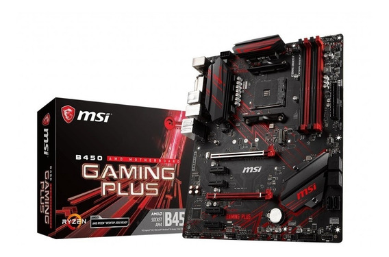 Placa Mae Msi B450 Gaming Plus Amd Am4 Ddr4