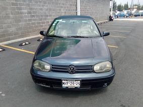 Volkswagen Golf Cabrio 2.0 Lujo 5vel Aa Ee B A Abs Mt