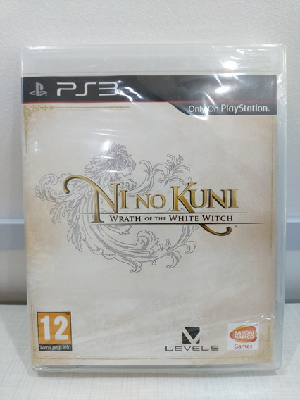 Ni No Kuni - Wrath Of The White Witch Ps3 Mídia Física